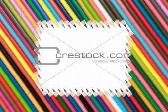 Frame of Crayons