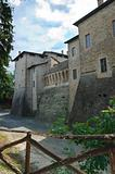 Castle of Felino. Emilia-Romagna. Italy.