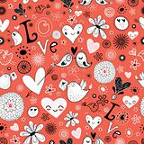 texture to the Valentine's Day