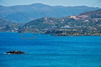 Cretan coast.