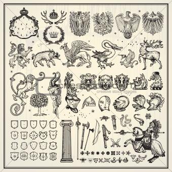 heraldic elements