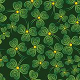 Shamrock background.