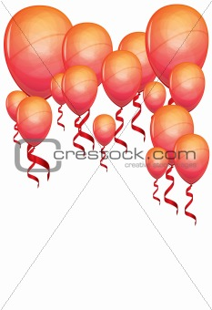 Beautiful color balloons