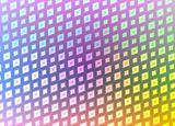 retro disco squares