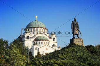 Monument commemorating Karageorge Petrovitch