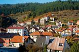 Serbian mountain village