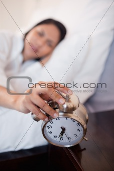 Alarm clock successfully woke up woman
