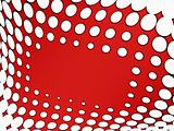 stylish dots abstract background
