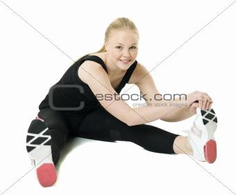 Aerobic woman