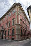 Malvicini Fontana Palace. Piacenza. Emilia-Romagna. Italy.