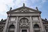 St. Agostino church. Piacenza. Emilia-Romagna. Italy.