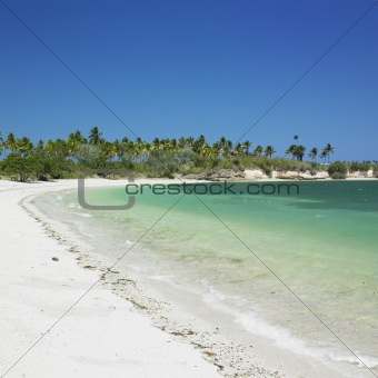 beach, Bahia de Bariay, Holguin Province, Cuba