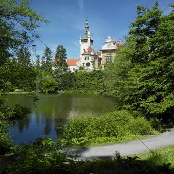 Pruhonice chateau, Czech Republic