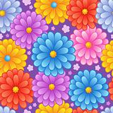 Flowery seamless background 4