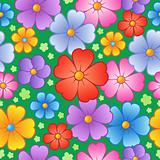 Flowery seamless background 6