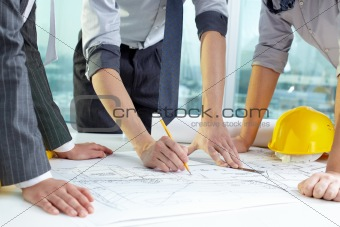 Architect's teamwork