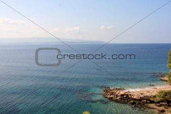Beach on the island of Brac