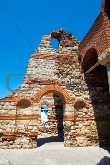 219 - Remains of ancient church. Bulgaria. Nessebar