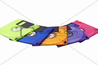 Floppy Disks Spread