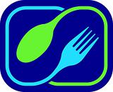 fork and spoon logo