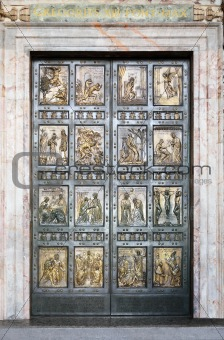 Holy Door In Vatican