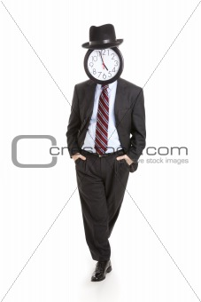 Anonymous Businessman - Relaxed