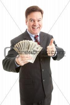 Rich Businessman - Thumbsup
