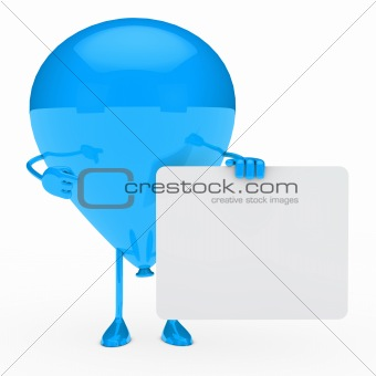 blue balloon shows