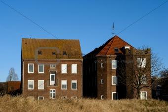 Old residential buildings