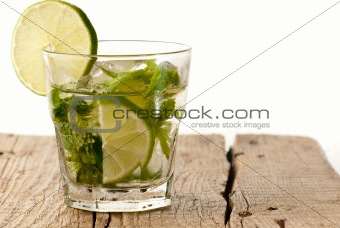 Green lime mojito