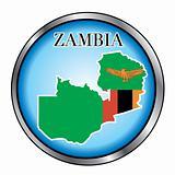 Zambia Sahara Round Button