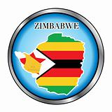 Zimbabwe Sahara Round Button