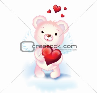 sweet cupid bear