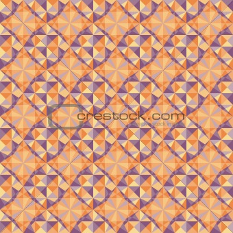 vector seamless blue and red geometric pattern