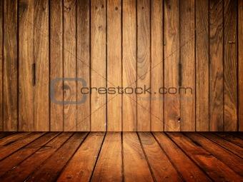 Old wood room