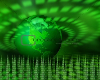 Green digital planet