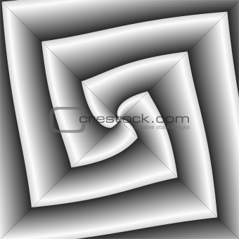 Angular grey abstract.