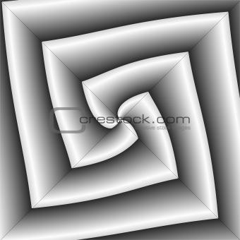 Angular grey abstract.