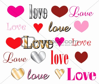 Love Heart Fonts