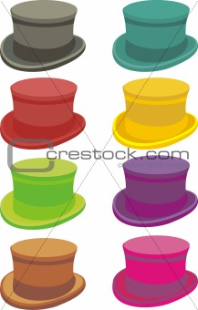 A set of hats