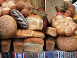 bread on rural market