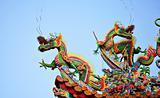 Asian temple dragon