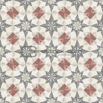 vector seamless pastel geometric pattern
