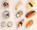 Sushi on rice