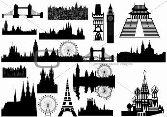 landmarks - vector