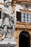Eggenberg castle in Graz, Austria, facade