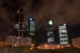Towers Business Area madrid