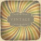 Grunge vintage card with space for text