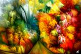 Tropical Abstract by rafi talby