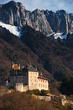 Mountain Landscape Castle V